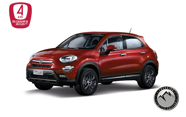 nouvelle fiat 500x trekking promotion voiture neuve fca belgique. Black Bedroom Furniture Sets. Home Design Ideas