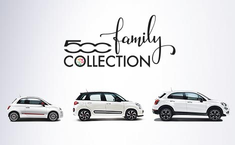 DIE FIAT 500 FAMILY COLLECTION FAMILIE GEHT ÜBER ALLES