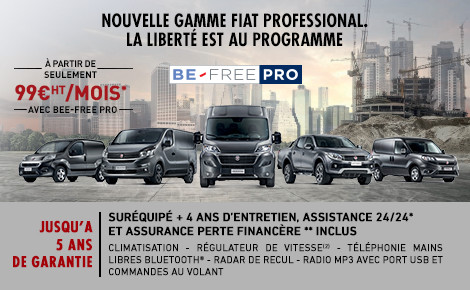 Gamme Fiat Professional