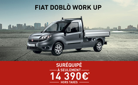NOUVEAU DOBLO WORK UP PACK PROFESSIONAL
