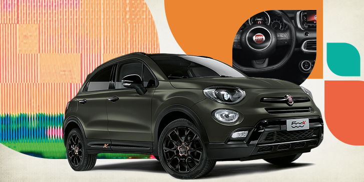 der fiat 500x. Black Bedroom Furniture Sets. Home Design Ideas