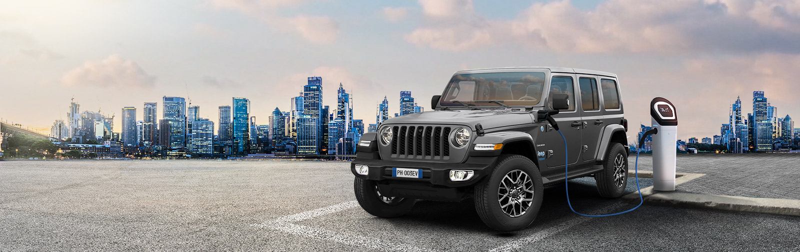 Jeep Wrangler 4xe Plug-in-Hybrid Angebote Business Leasing